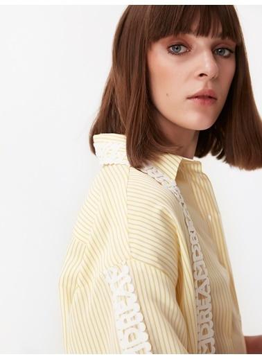 Twist Gömlek Sarı